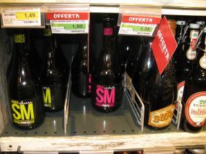 Krafty w markecie Coop w Chianciano Terme