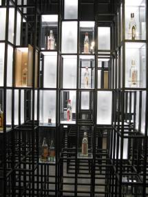 Sala z butelkami