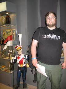 Jedna z wielu sal z eksponatami
