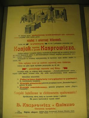 Stara reklama koniaku